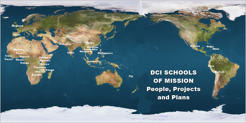 the dci schools of mission have no walls no frontiers and no fees
